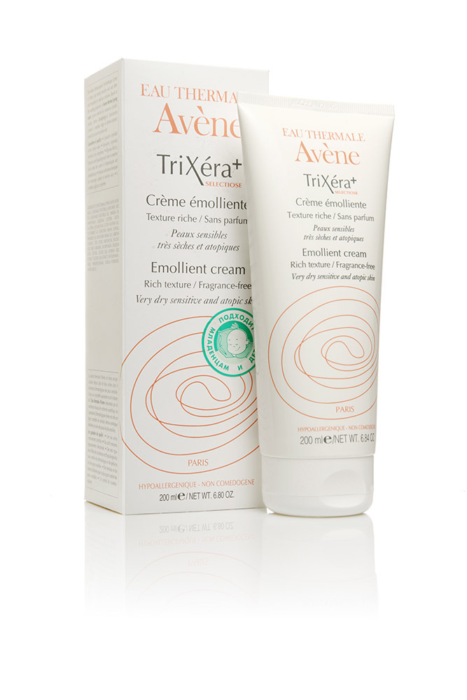Avene TriXera+selectiose смягчающий крем 200 мл.