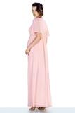 Платье для беременных 10472 пудра