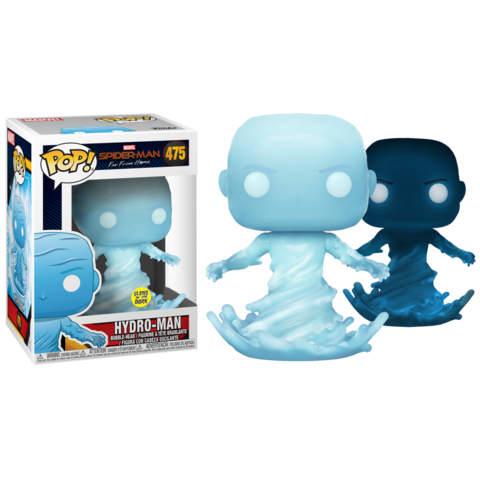POP! Bobble: Marvel: Spider-Man: Far From Home: Hydro-man (glows in the dark)