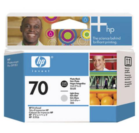 печатающая головка HP 70 Black-Light Gray