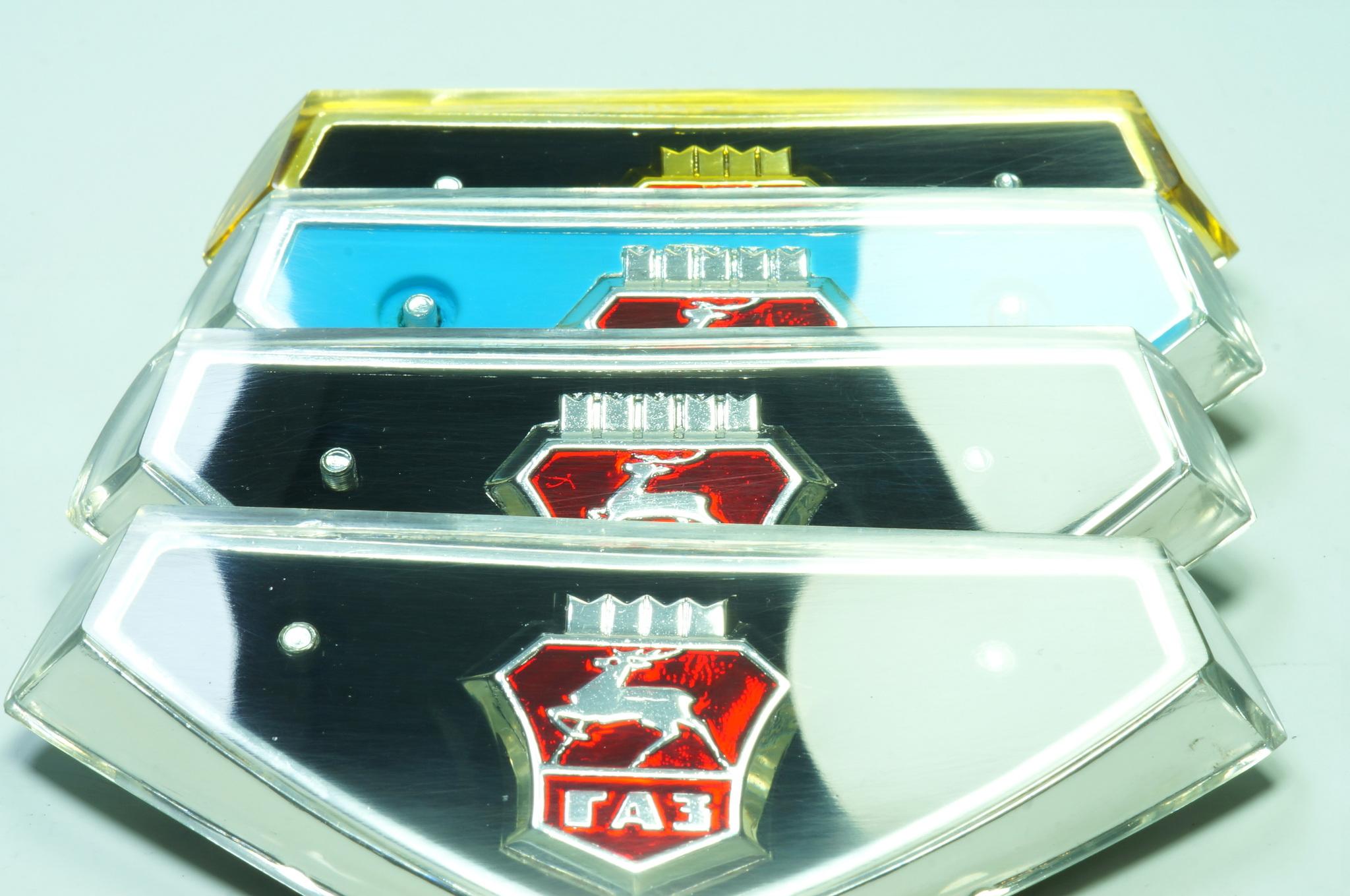 Эмблема решётки радиатора Газ 24
