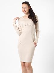 P017-2 платье бежевое