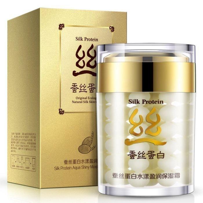 Bioaqua Крем для лица с Протеинами шелка Silk Protein Cream, 60 г