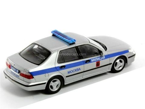 SAAB 9-5 Police Moscow Russia 1:43 DeAgostini World's Police Car #48