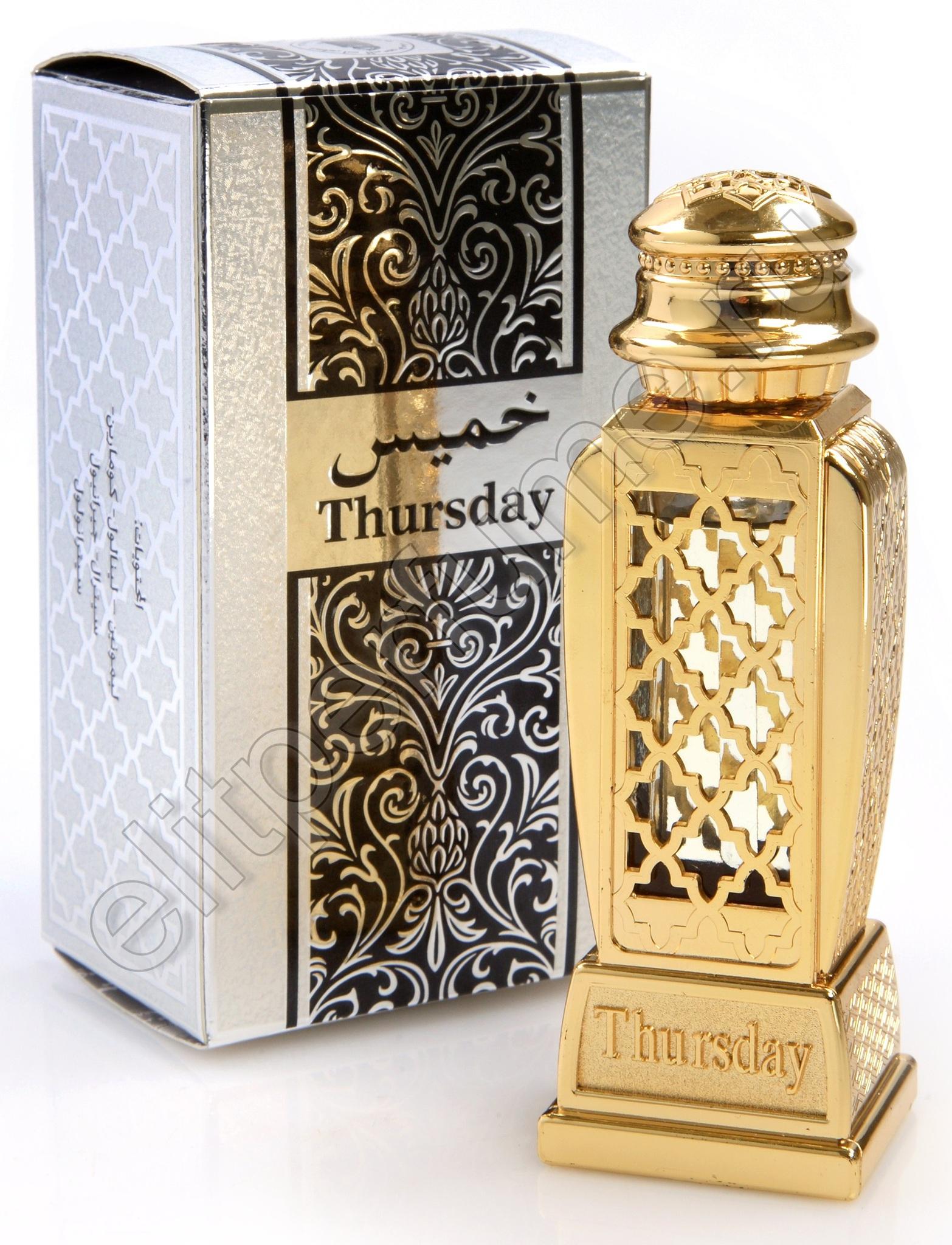 Четверг Thursday 15 мл арабские мужские масляные духи от Аль Харамайн Al Haramain Perfumes
