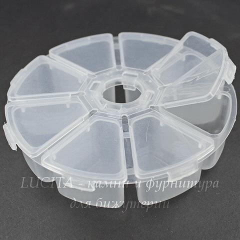 Пластиковый контейнер круглый 103х25 мм