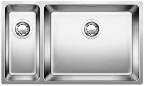 Кухонная мойка Blanco ANDANO 500/180-U, правая, без клапана-автомата, нержавеющая сталь
