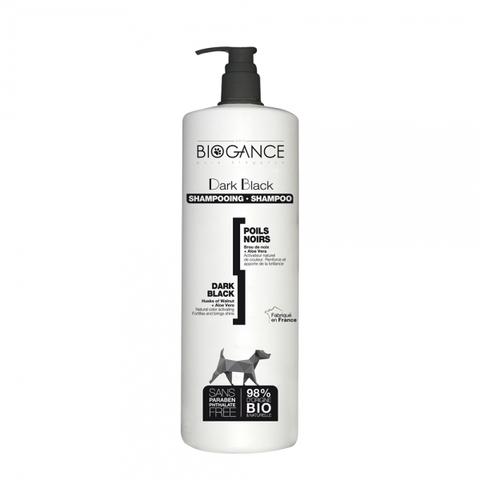Натуральный BIO-шампунь для собак черных окрасов Biogance Dark Black, активирующий природный цвет 1000 мл