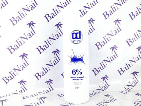 CONSTANT DELIGHT Эмульсионный окислитель 6%, 1000 мл (Белый)