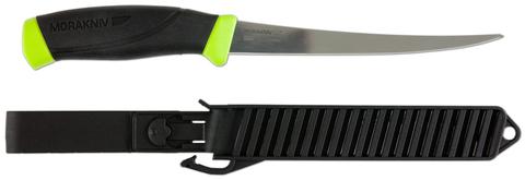 Нож филейный в пластиковых ножнах Morakniv Fishing Comfort File 155, арт. 11892