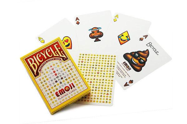 Игральные карты Bicycle Emoji