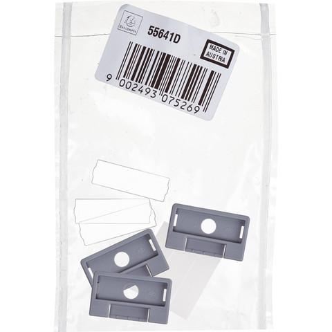 Картотека Индексное окно прозрачное для картотек 5шт/уп. 55641D