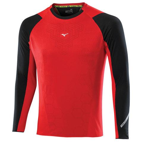Рубашка беговая мужская Mizuno DryLite Premium LS Tee (62)