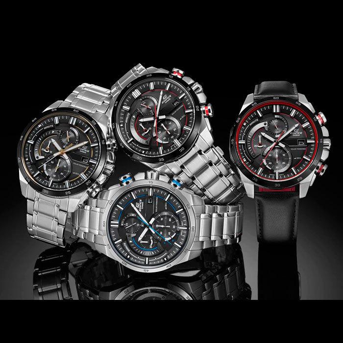 a7c5cca8 Мужские часы CASIO EDIFICE EQS-600BL-1AUEF- купить по цене 99000.0 в ...
