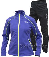 Утеплённый лыжный костюм RAY Race WS Violet женский