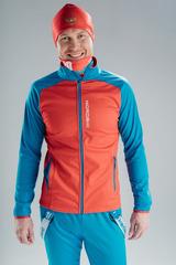 Утеплённая лыжная куртка Nordski Premium Red-Blue 2020