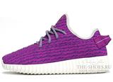 Кроссовки Женские Adidas Originals Yeezy 350 Boost Lilac White