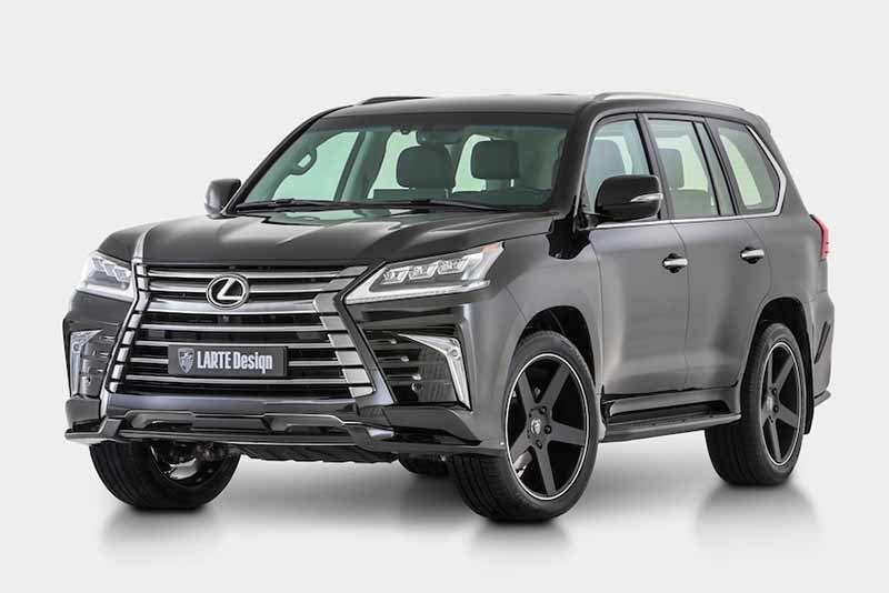 Larte Design body kit  for Lexus LX models (2016-2017)