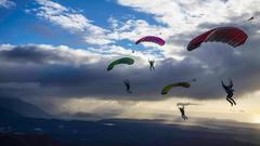 парашют кросс 3