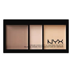 NYX Палитра корректоров CREAM HIGHLIGHT & CONTOUR PALETTE