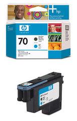 печатающая головка HP 70 Cyan-Matte Black