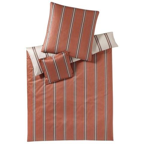 Постельное белье 2 спальное евро Elegante Cascade коричневое