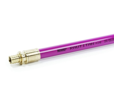 Труба REHAU RAUTITAN Pink 25х3,5 мм