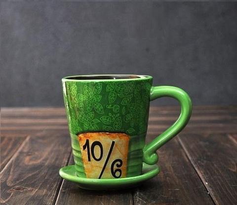 Алиса в стране Чудес кружка Безумный Шляпник — Alice In Wonderland Mug Cup Mad Hatter