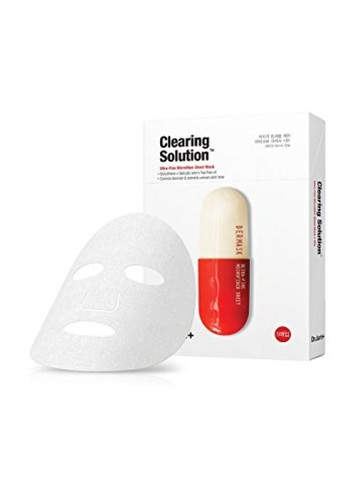 Dr.Jart+ Clearing solution mask/  Маска для устранения проблем с покраснениями и воспалением кожи