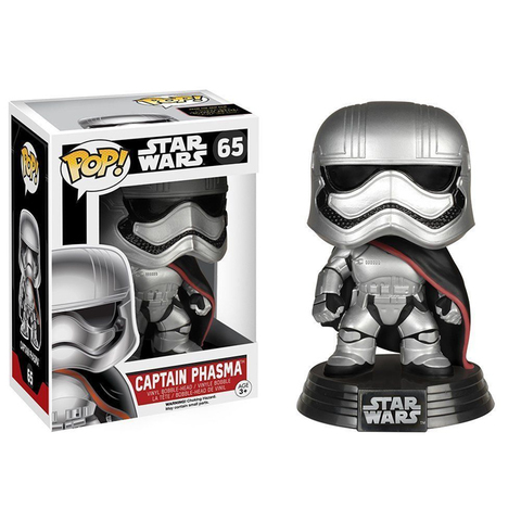 ФИГУРКА FUNKOPOP! STAR WARS «CAPTAIN PHASMA/ КАПИТАН ФАЗМА»