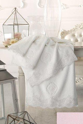 Набор полотенец 5 шт Blumarine Elide розовый