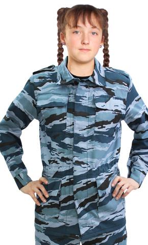 Костюм детский военно-полевой Серый Камыш