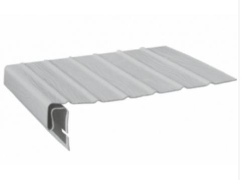 Планка J-фаска FineBer Белый 3,05м