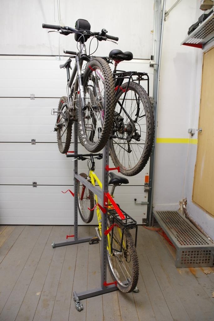 стойка для хранения велосипедов