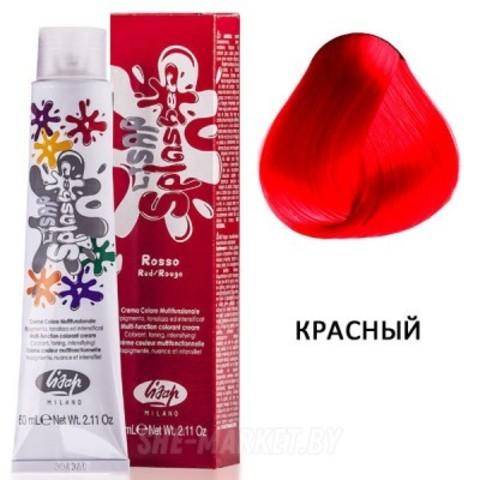 Краска ЛК Сплешер Лисап Красный для волос 60мл