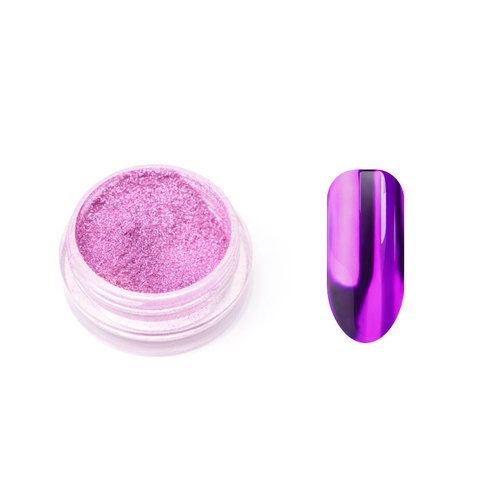 Металлическая втирка TNL (фиолетовая)