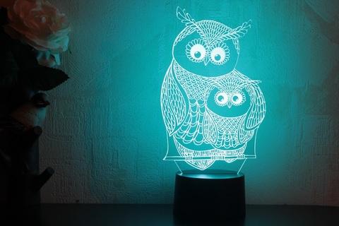 Art-Lamps Сова с совенком