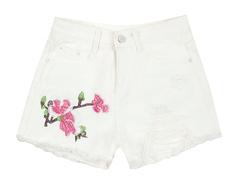 606 шорты женские, белые