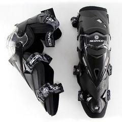 Наколенники шарнирные Scoyco К12 - чёрные