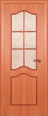 Дверь ДО 516 (итальянский орех, остекленная ламинированная), фабрика Краснодеревщик