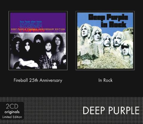 Deep Purple / Fireball 25th Anniversary, In Rock (2CD)