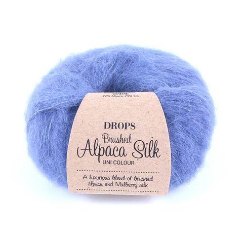 Пряжа Drops Brushed Alpaca Silk 13 джинс
