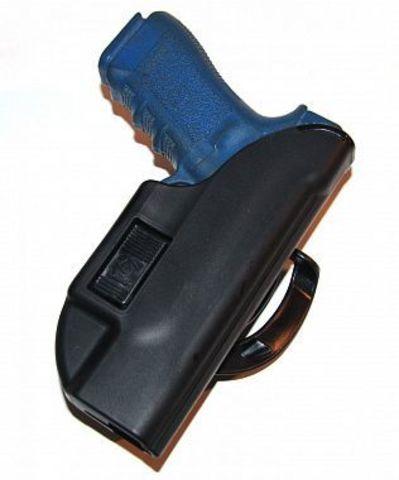 Кобура пластиковая для пистолета Глок 17 Альфа быстросъемная Стич Профи