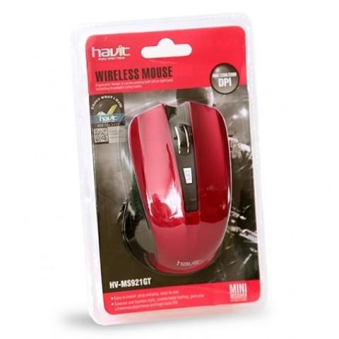 Мышь беспроводная HAVIT HV-M921GT USB red
