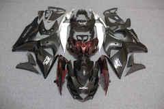 Комплект пластика для мотоцикла Suzuki GSX-R1000 09-15 Черно-Бордовый