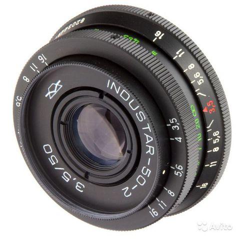 Объектив Индустар-50-2 50 mm f/ 3.5