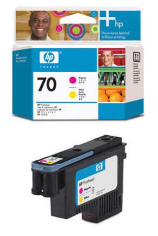 печатающая головка HP 70 Magenta-Yellow