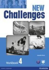 Challenges New 4 Workbook & Audio CD Pck