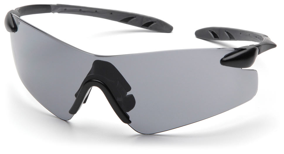 Очки баллистические стрелковые Pyramex Rotator SB7820S серые 23%