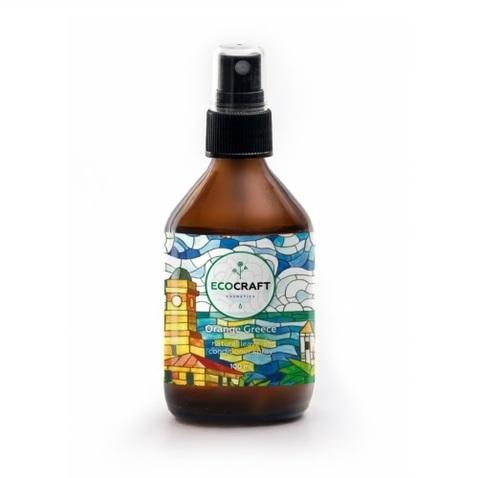 Cпрей-кондиционер для блеска, гладкости и упругости волос Апельсиновая Греция   Ecocraft